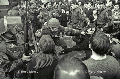 Northern Ireland Riots  British Army in Action