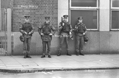 Northern Ireland Troubles British Army soldiers