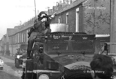 Northern Ireland  Riots Belfast Late 60' early 70's