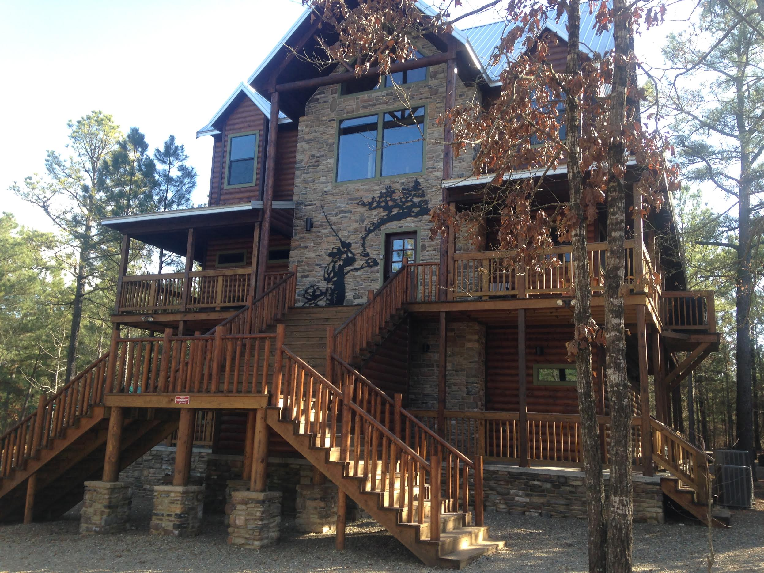 Charmant Trout Creek Lodge Is Your New Broken Bow Vacation Connection For A Large,  Beautiful Log Cabin Which Offers Unique Adventure And Fun For The Children,  ...