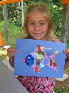 A beautiful rainbow fish!