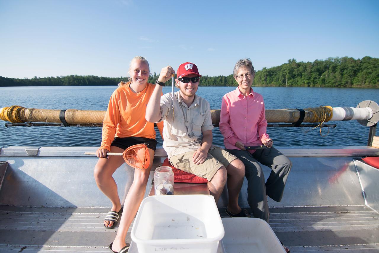 Day fish crew
