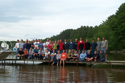 Summer Crew 2003 on the Shore of Trout Lake