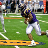 David M. Johnson - djohnson@digitalfirstmedia.com <br /> Troy High's Joey Ward (1)runs the ball against Lancaster in the NYSPHSAA Class AA Championship Sunday at the Carrier Dome in Syracuse.