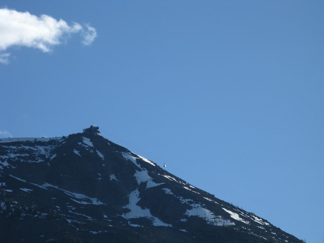 Gondola in Jasper