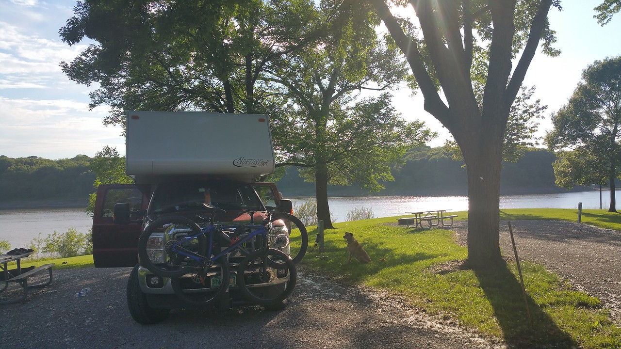 Sugar Bottom Campground in IA.