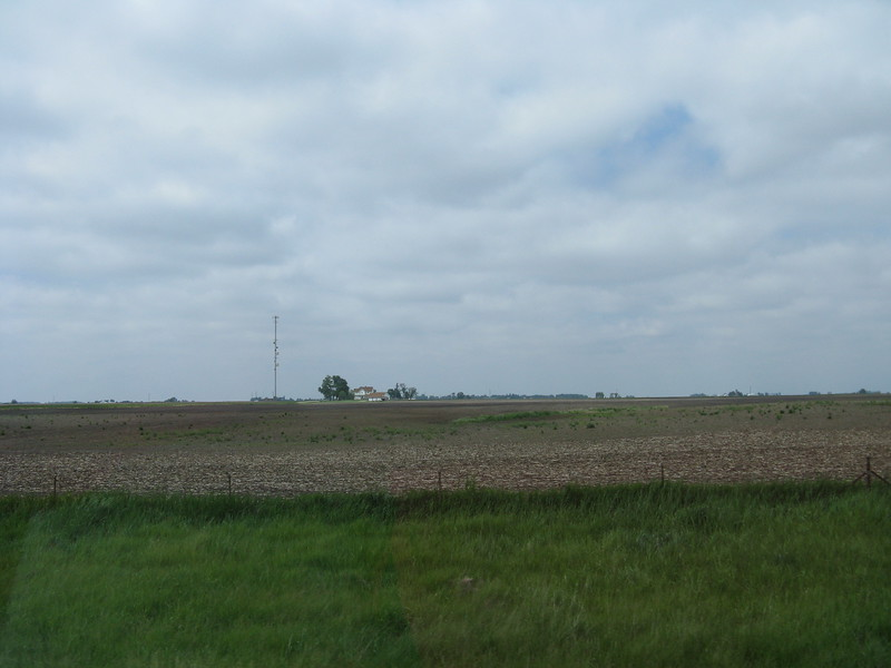 Endless farmland