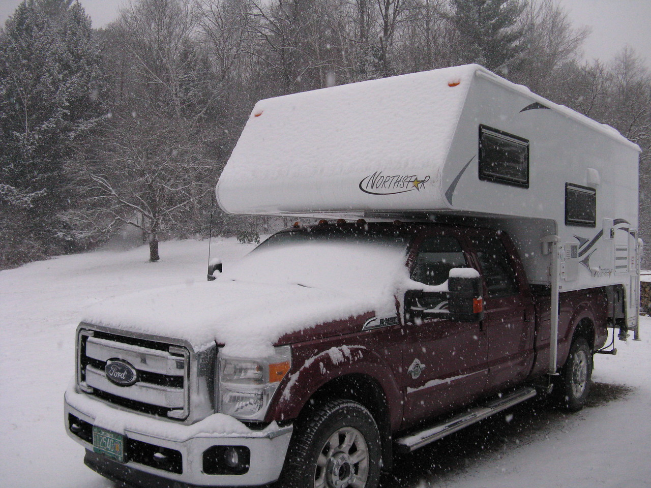 December 5, 2016. Time to start thinking about camping - someplace warmer.