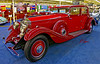 Antique auto: 1933 Rolls-Royce Phantom II Continental Freestone & Webb Sports Saloon, $285 ,000. Auto Collections, Imperial Palace Hotel, Las Vegas, Nevada, 2005.