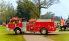 Fire engines, trucks, apparatus, historical: 1978 American LaFrance pumper, City of Romulus Heights, Michigan. Fire apparatus Muster, Riverside Park, Ypsilanti, Michigan August 26, 2006