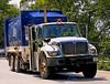 International garbage truck, Groton, Massachusetts, 2007.