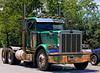 Peterbilt semi-tractor without trailer, Groton, Massachusetts, 2007.