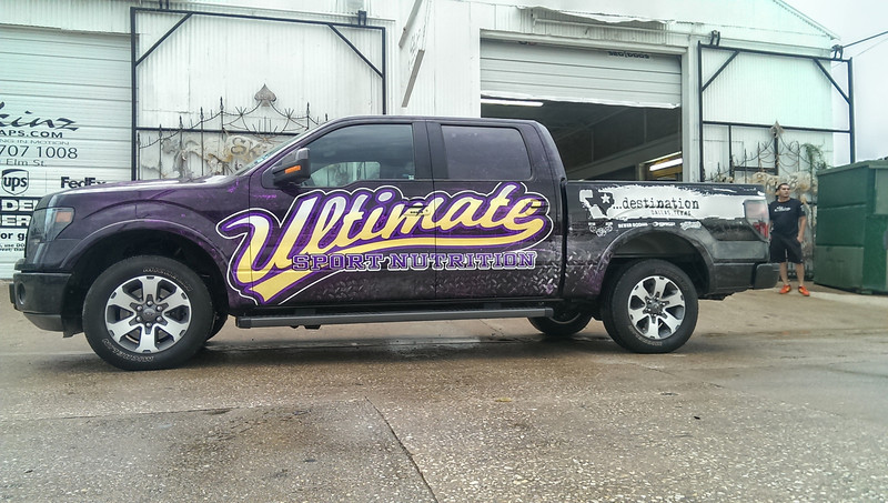 Ultimate Sport Nutrition, '13 Ford F150, Dallas, TX