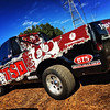 "Skinz custom-designed and installed wrap for ""The Mick"", Race truck wrap for Truck Source Diesel, Dallas, TX"