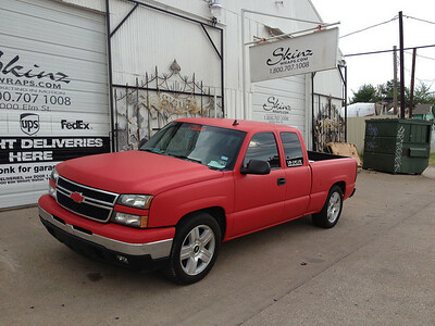 Chevy Silverado, Matte Red
