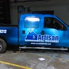 Ford F150 with full SkinzWrap for Artisan Contracting Services, DFW
