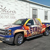 Houston Astros, Graphic Resource Group, '13 Chevy Silverado, Dallas, TX