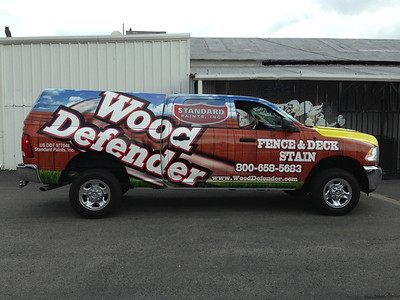 Standard Paints, Inc., Wood Defender, '12 Dodge Ram 2500 with Camper, Dallas, TX