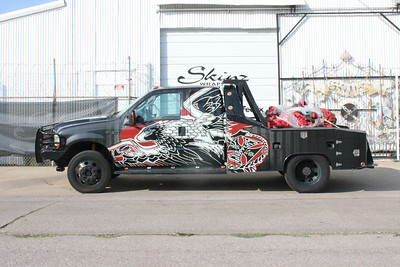 West Coast Choppers, Ford F450, Dallas, TX