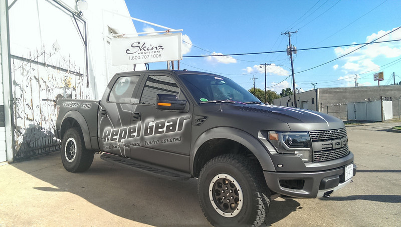 Repel Gear, '13 Ford Raptor King Ranch, Dallas, TX