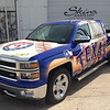 Texas Rangers, '14 Chevy Silverado, Graphic Resource Group, Dallas, TX