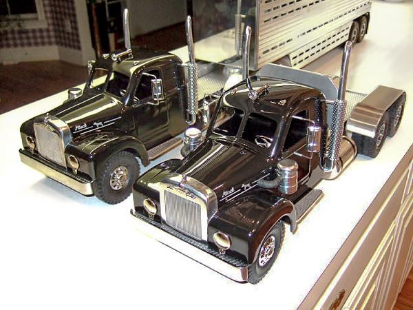 Custom Smith Miller Bmack Integral Sleeper Truck.