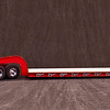 This Cab is a Jim Simmons creation.  The custom trailer is an original Bill Musgrave creation.  Note that this model comes with black ramps on the leading edge of the deck.