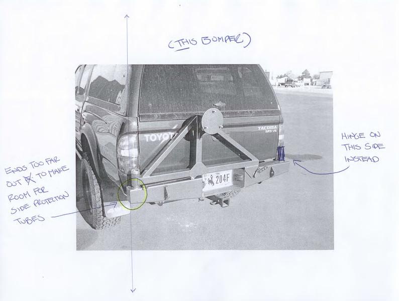 CBI rear bumper 1