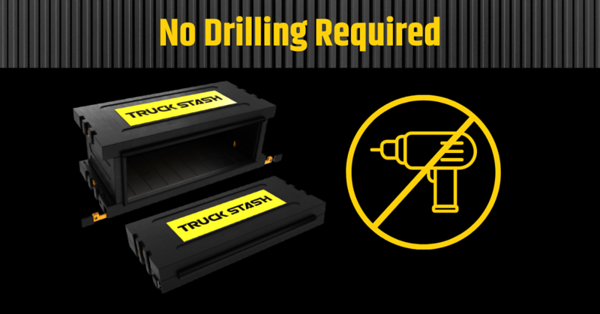 No Drilling Required