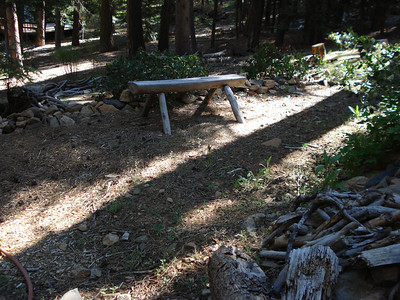 Bench - Backyard Garden Project