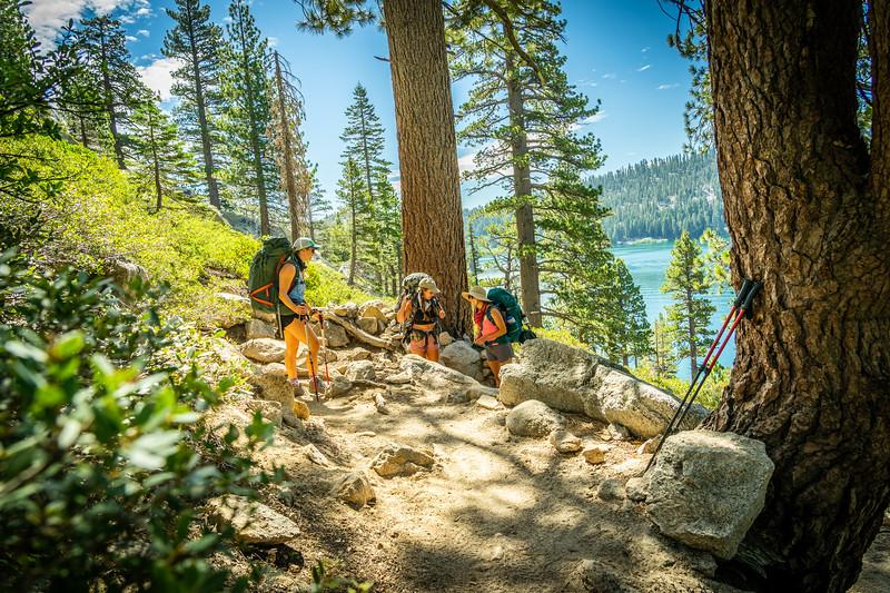 Echo Lakes Trail, Desolation Wilderness