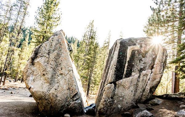 Bouldering Split Rock