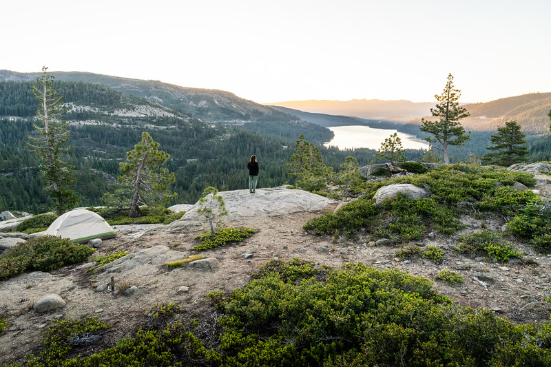 Camping on Donner Summit