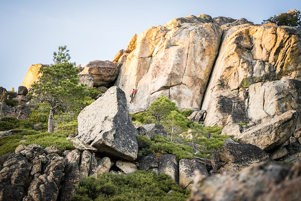 Climbing Donner Summit