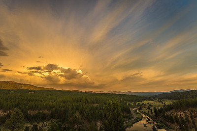 Little Truckee Sunset from Stampede