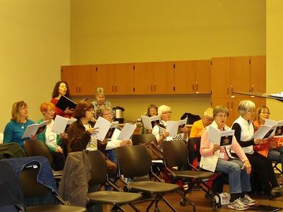 Chorus Rehearsal 02/08/2016