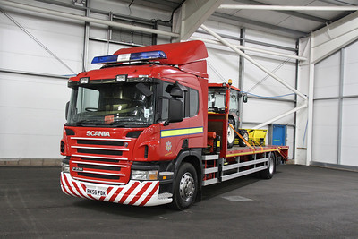 Tayside Scania P230 low-loader RX56FDK