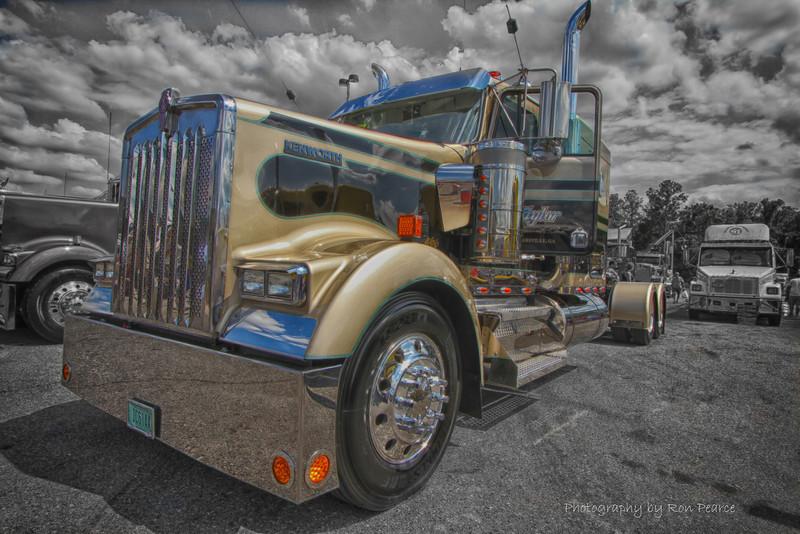 2012 75 Chrome Shop Semi Truck Show Wildwood Fla Backcountrybound