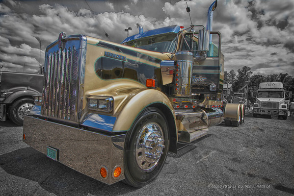2012 - 75 Chrome Shop Semi Truck Show, Wildwood, Fla.
