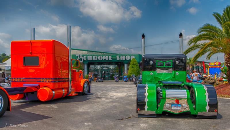 75 Chrome Shop >> 75 Chrome Shop 2015 Semi Truck Show April 2015 Backcountrybound