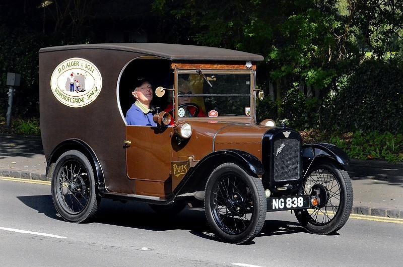 NG 838 AUSTIN SEVEN VAN 1931