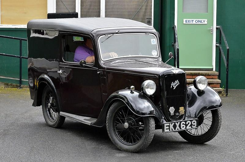 EKX 629 ASTIN SEVEN VAN 1938