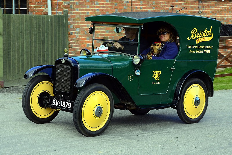 SV 9879 AUSTIN SEVEN C VAN 1928