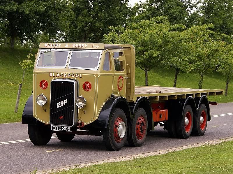 DTC 308 ERF 68 15 TON 1938