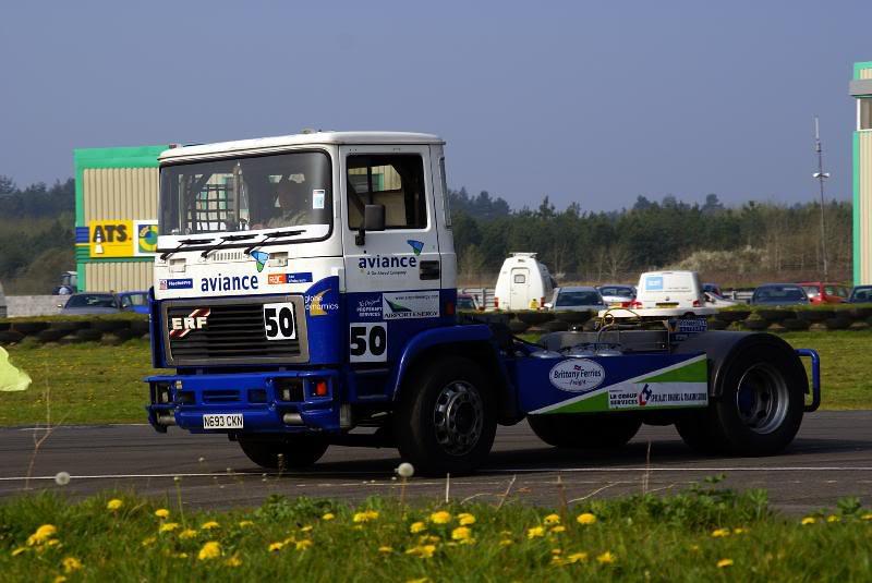 ERF RACE TRUCK.
