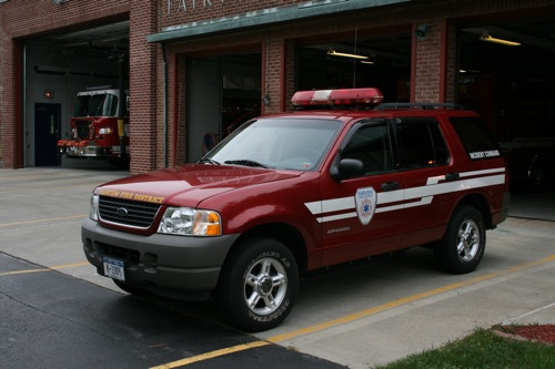2001 Ford Explorer Command Vehicle