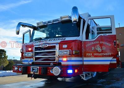 Presentation Ceremony of CSFD Heavy Rescue 17-Colorado