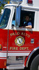 Palo Alto-California, Fire Engine 2 on the scene of an automatic alarm at VA Palo Alto Health Care Facility.