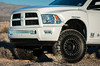 """Rigid Industries provided the 40"""" and 6"""" M-Series LED light bars that fit perfectly into the OEM bumper."""