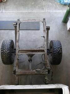 Box, gas tank, muffler misc brackets - gone!